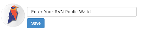 Ravencoin - RVN Wallet Address