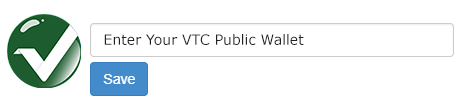 Vertcoin - VTC Wallet Address