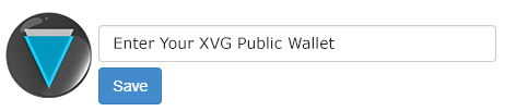 Verge - XVG Wallet Address